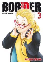 Border kodaka kazuma manga volume 3 simple 73758