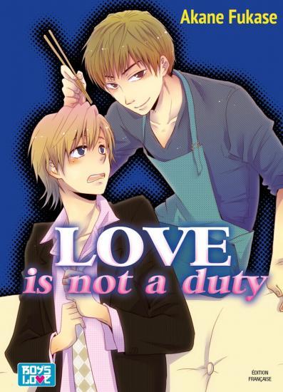 Love is not duty manga volume 1 simple 215636